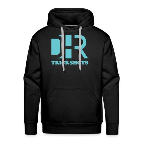 DHR Trickshots with text - Men's Premium Hoodie