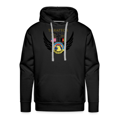 Task Force Raptor Deployment Crest - Men's Premium Hoodie