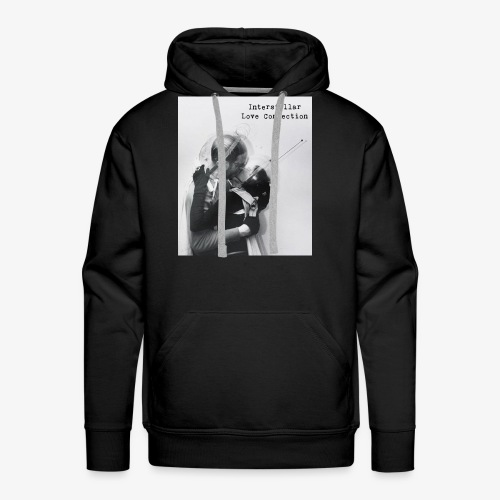 interstellar love connection - Men's Premium Hoodie