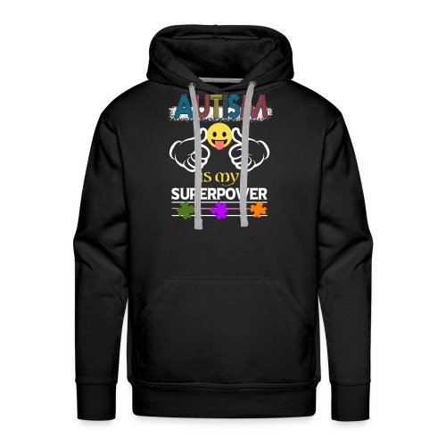 Autism Speaks T shirt - Men's Premium Hoodie