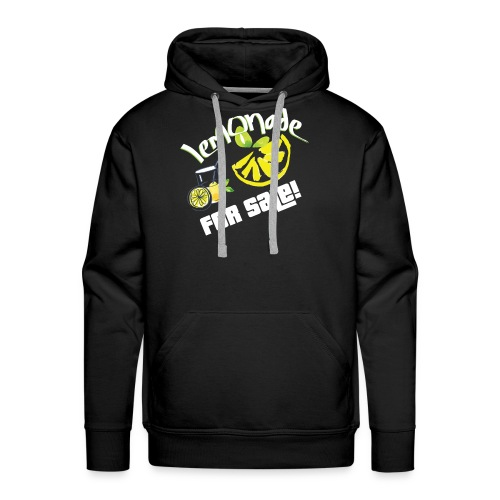 Lemonade For Sale Stand Funny Summer Beverage Gift - Men's Premium Hoodie