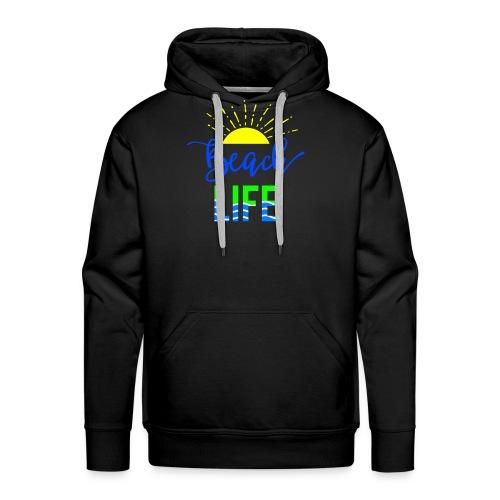 beach life shirt - Men's Premium Hoodie