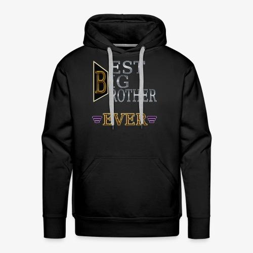 BEST Brother Shirt Big brother - Men's Premium Hoodie