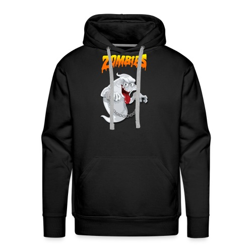Funny t-shirt zombie & Funny t-shirt halloween - Men's Premium Hoodie