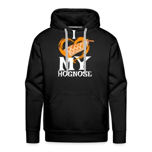 Hognose Snake design, Gift for Pet Western Hoggy - Men's Premium Hoodie