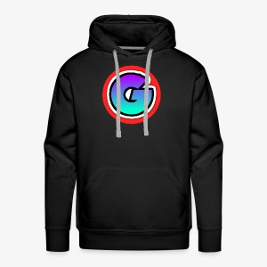Galaxy Circle Logo - Men's Premium Hoodie
