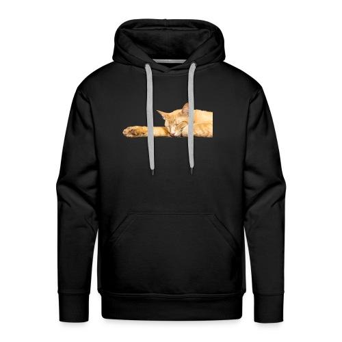 Cat Nap - Men's Premium Hoodie