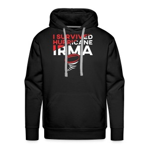 I Survived Hurricane Irma 2017- Men Women TShirt - Men's Premium Hoodie