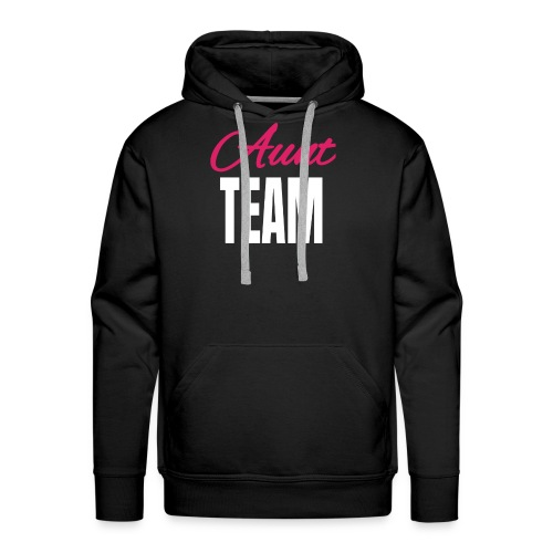 Aunt Design Aunt Team Gift from Nephews Nieces - Men's Premium Hoodie