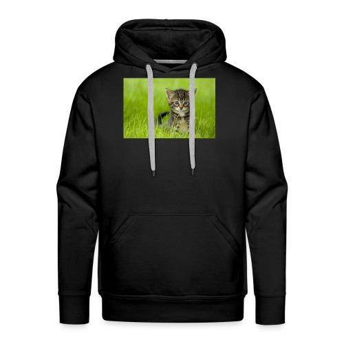 chat - Molleton à capuche Premium pour homme