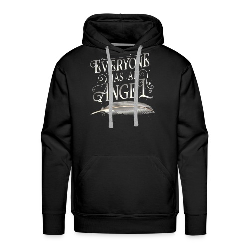 Everyone has an Angel - Men's Premium Hoodie