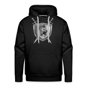Lion Head Crest - Men's Premium Hoodie