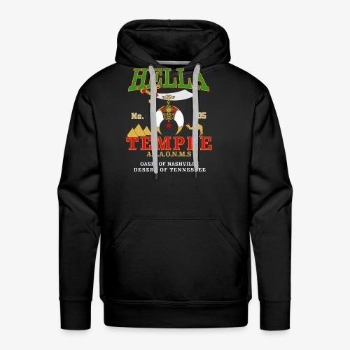 Hella Temple #105 2016 Version - Men's Premium Hoodie