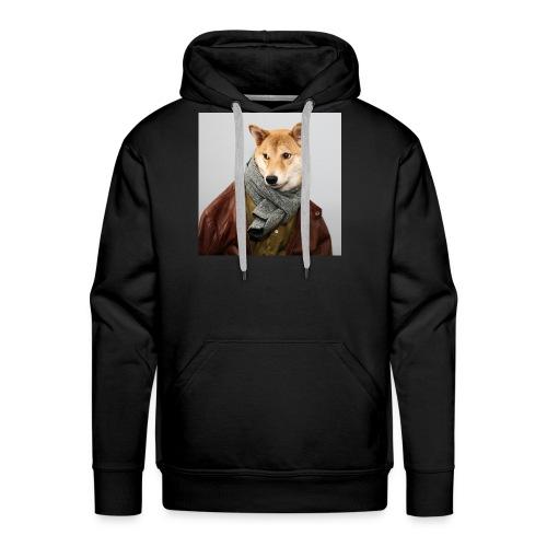 doge shirt - Men's Premium Hoodie
