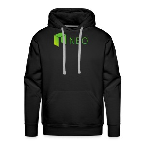 Neo Cryptocurrency logo - Men's Premium Hoodie