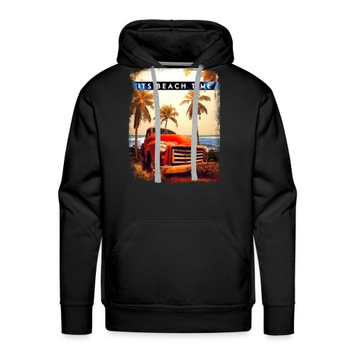 Its Beach Time - Men's Premium Hoodie