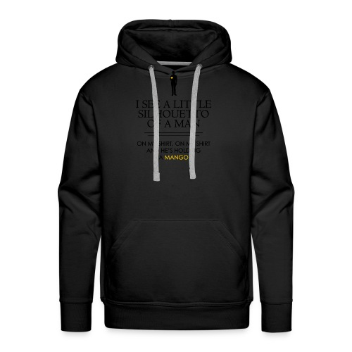 I See a Little Silhouetto - Men's Premium Hoodie
