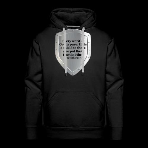 Proverbs 30:5 - Men's Premium Hoodie