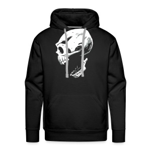 Screaming Skull - Men's Premium Hoodie
