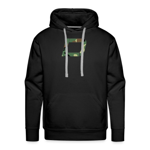 DawN Gaming Camo Logo - Men's Premium Hoodie