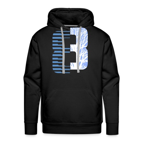 Eight Art blue - Men's Premium Hoodie