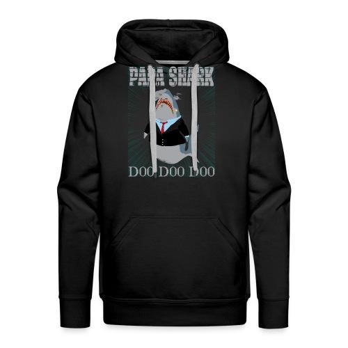 PAPA SHARK 01 Tshirt - Men's Premium Hoodie