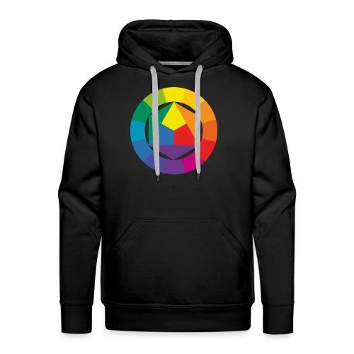 Color Circle - Men's Premium Hoodie