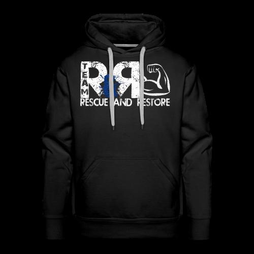 Team Rescue & Restore Blue Logo - Men's Premium Hoodie