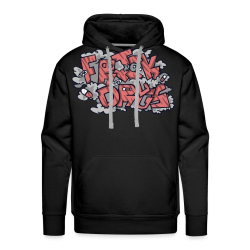 FRICK DRUGS! (RED) - Men's Premium Hoodie