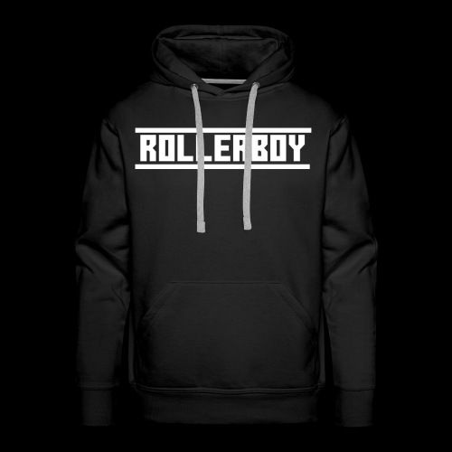 Exclusive ROLLERBOY NAME LABLE - Men's Premium Hoodie