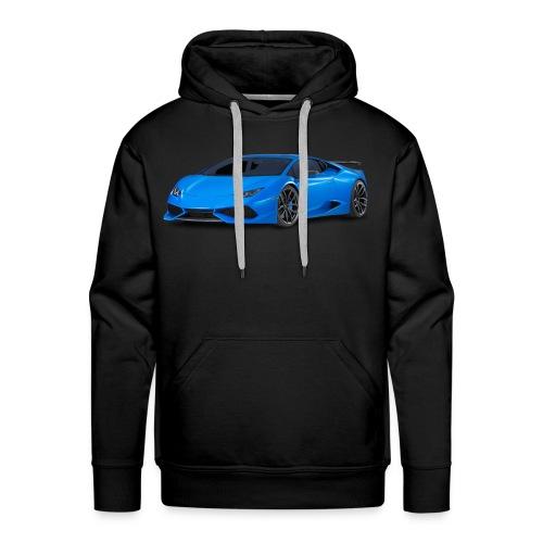 Black Lamborghini Sweat Shirts - Men's Premium Hoodie