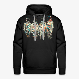 GLITCH   ASTRONAUTS - Men's Premium Hoodie