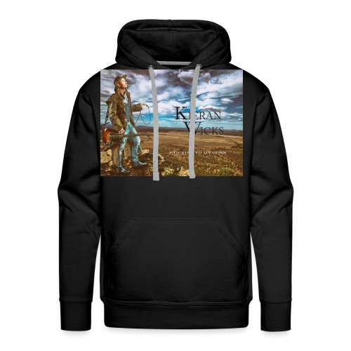 Sticking to My Guns by Kieran Wicks Album Cover - Men's Premium Hoodie