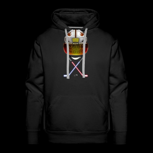 Puck Wars - Rebel - Men's Premium Hoodie