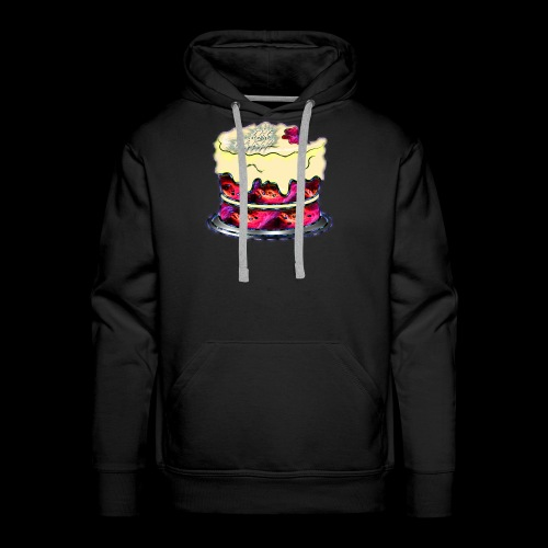The Baked Space Cake logo - Men's Premium Hoodie
