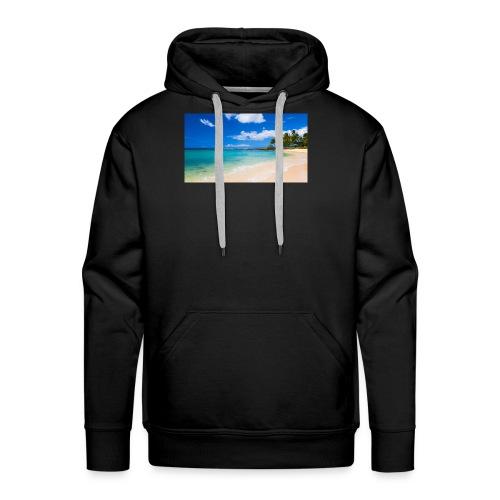 poipu beach park hawaii 0 - Men's Premium Hoodie