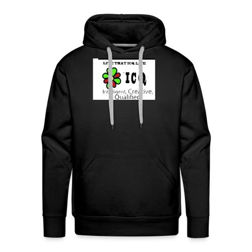 bunk new ICQ edited 33 - Men's Premium Hoodie