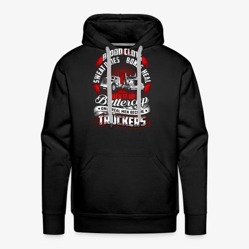 SUCK IT UP TRUCKERS - Men's Premium Hoodie