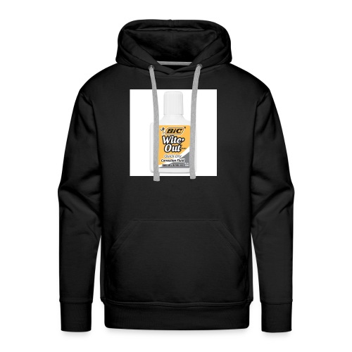 Traditional White Out Tee - Men's Premium Hoodie