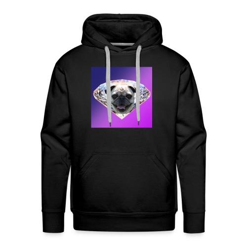 Diamond Pug - Men's Premium Hoodie
