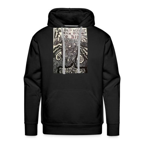 Of sorts in times of darthness - Men's Premium Hoodie