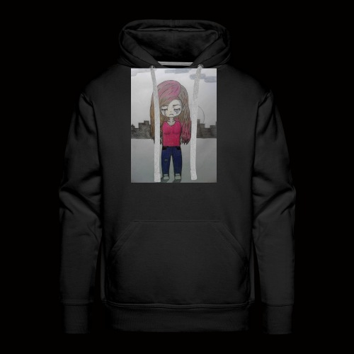 Heart break and loneliness - Men's Premium Hoodie