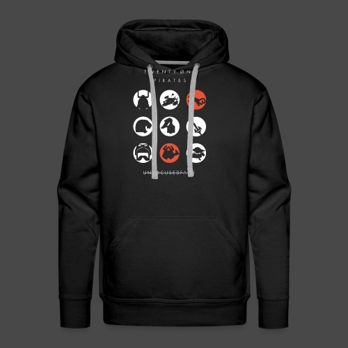 Twenty-Øne Pirates: UnfocusedFace Official Logo - Men's Premium Hoodie