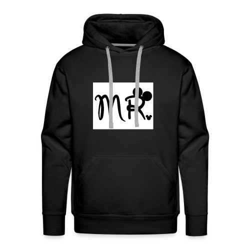 a1cb4a3601e1061d75bb369244d965b5 mr gallery mr mrs - Men's Premium Hoodie