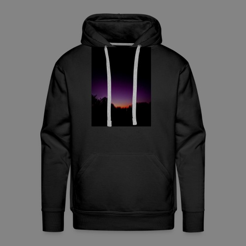 purple sunrise - Men's Premium Hoodie