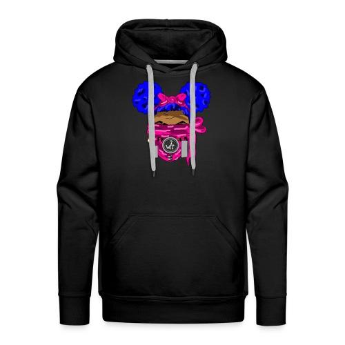 Blue Top - Pink Maks - Men's Premium Hoodie