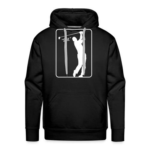 Golf Shot Shit. - Men's Premium Hoodie
