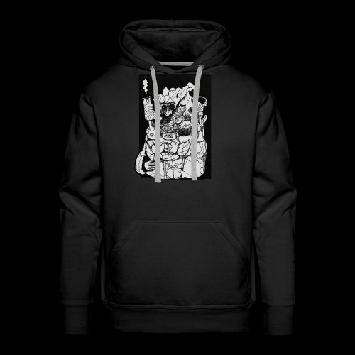 Wanted in Six Systems - Men's Premium Hoodie