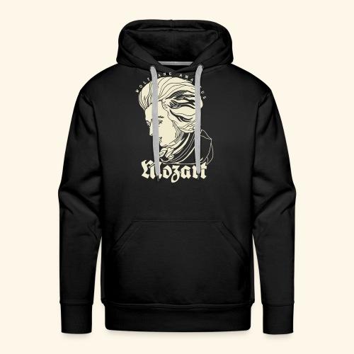 Mozart Portrait - Men's Premium Hoodie