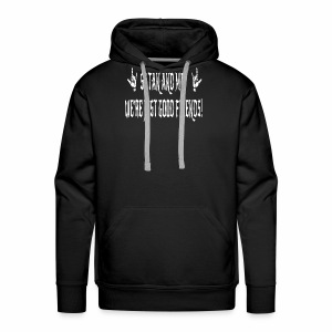Satan And Me - Men's Premium Hoodie